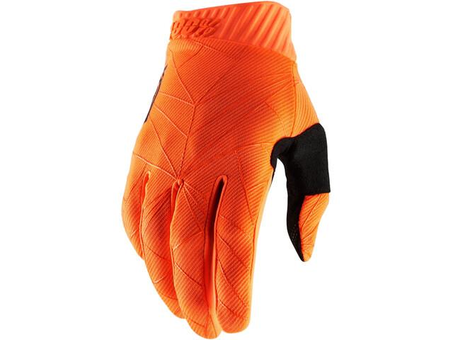 100% Ridefit FA18 Gloves orange/black